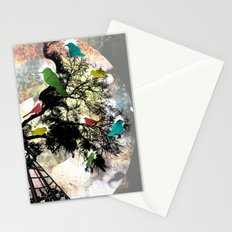 Life in a Cage Stationery Cards