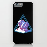 iPhone & iPod Case featuring Daft Punk: Daft Deco by JoPruDuction Art
