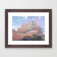 Beyond the Forest Framed Art Print