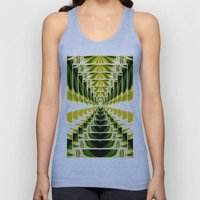 Abstract.Green,Yellow,Bl… Unisex Tank Top