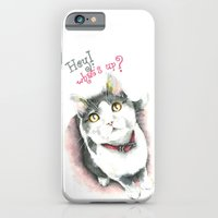 iPhone & iPod Case featuring Hey! what's up? by Hande Unver