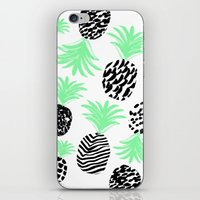 Classy Pineapples iPhone & iPod Skin