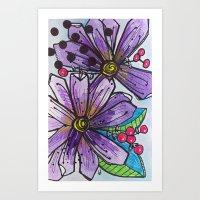 Garden Fauxtanical 2 Art Print