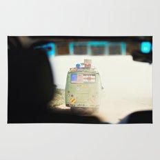 on the road::kenya Rug