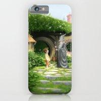 iPhone & iPod Case featuring Bilbo Meets Gandalf by Erik Krenz