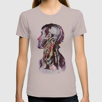 Anatomy [Quain] 2 Womens Fitted Tee Cinder SMALL