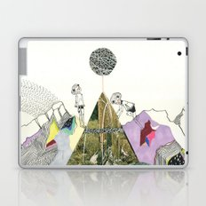Climbers - Cool Kids Climb Mountains Laptop & iPad Skin