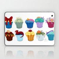 The Princess Cupcake Col… Laptop & iPad Skin