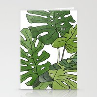 Philodendron Selloum Stationery Cards
