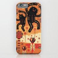 iPhone Cases featuring Les danses de Mars by Exit Man