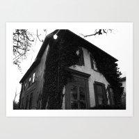 Just A House. Art Print