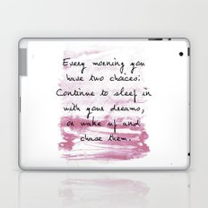 everymorning watercolor Laptop & iPad Skin