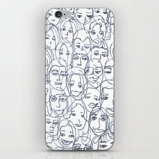 Faces iPhone & iPod Skin