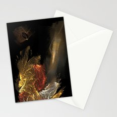 Dragon with staircase Stationery Cards