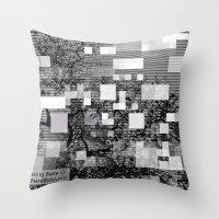 Deconstructions 3A Throw Pillow