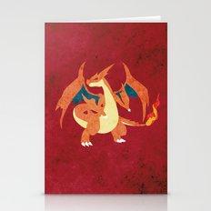 Mega Charizard Stationery Cards