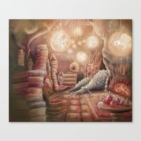 The Witch's Lair Canvas Print