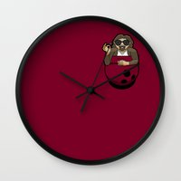 Pocket Dude (03) Wall Clock