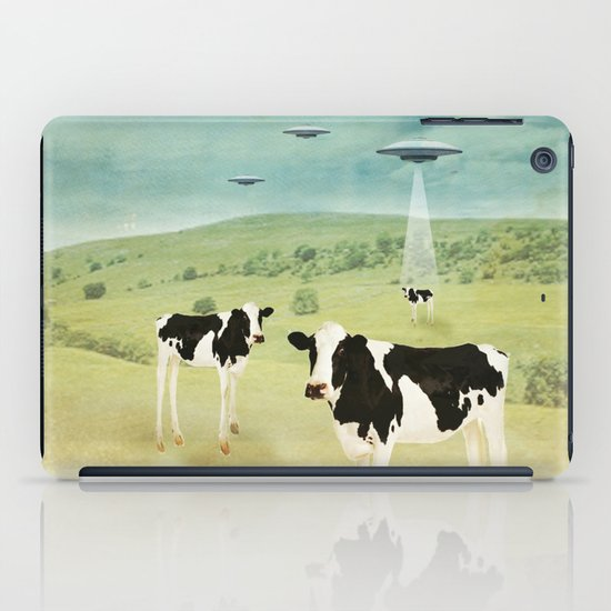 we all like burgers _ US AND THEM  iPad Case