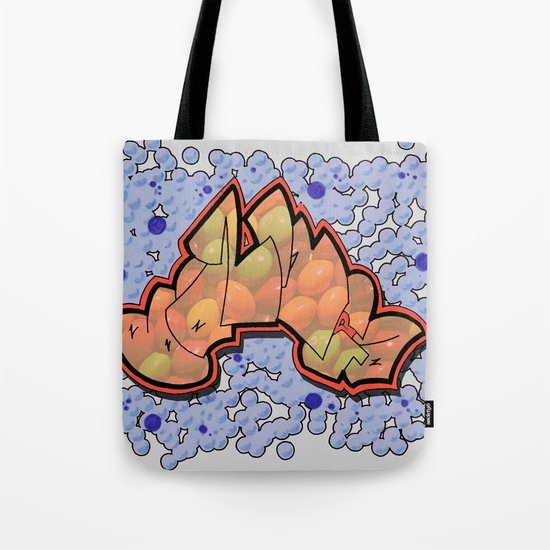 Skittle-Bazinga Tote Bag