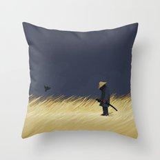 False Alarm Throw Pillow