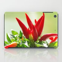 Chili Peppers On The Vin… iPad Case