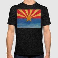 Arizona Mens Fitted Tee Tri-Black SMALL