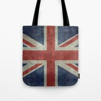 Union Jack  (3:5 Version) Tote Bag