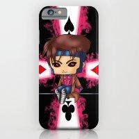 iPhone & iPod Case featuring Chibi Gambit by artwaste