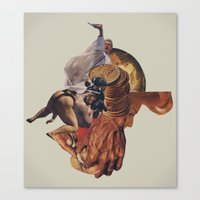 Blind Exodus Canvas Print