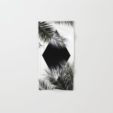 Palm Leaves 3 Geometry Hand & Bath Towel