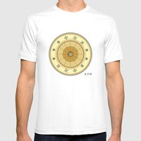 Fleuron Composition No. 113 Mens Fitted Tee White SMALL