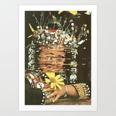 Your Happiness Is Fabricated Art Print