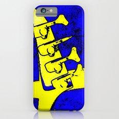 Aria Pro Blue Colorwarp iPhone 6s Slim Case