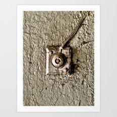 Vintage Doorbell Art Print
