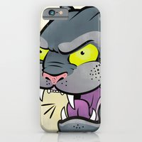 iPhone & iPod Case featuring Panther Tattoo Flash by C Barrett