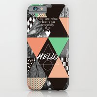 GEOMETRIC - You Are What… iPhone 6 Slim Case