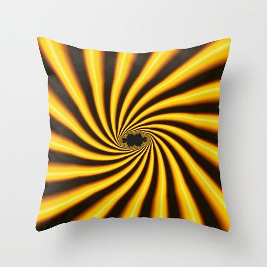 Twisted Sunshine Throw Pillow