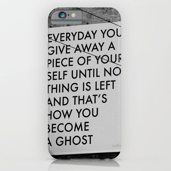 HOW TO BECOME A GHOST iPhone & iPod Case