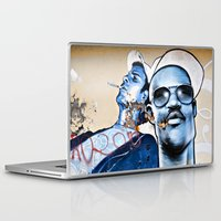 graffiti Laptop & iPad Skins featuring Graffiti  by Christine Fitzgerald Photography