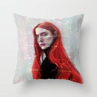 Beautiful Hell Throw Pillow