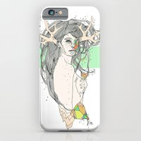 iPhone Cases featuring colour blind VI by Cassidy Rae Limbach