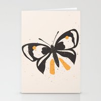 Gungry Butterflies Stationery Cards