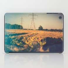 Stems and gears, oh how the daisies bloom iPad Case