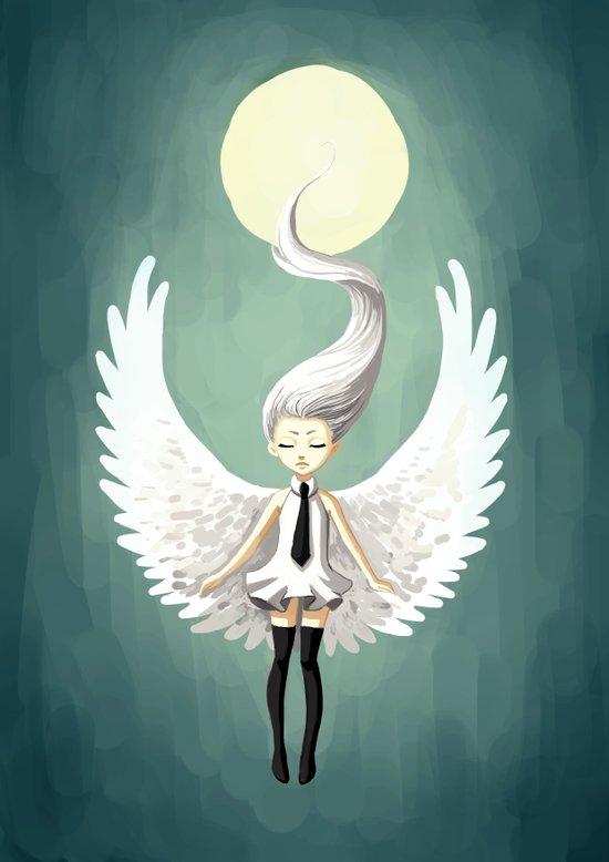 Angel 2 Canvas Print