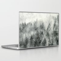 brain Laptop & iPad Skins featuring Everyday by Tordis Kayma