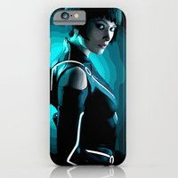 iPhone & iPod Case featuring Quorra by Natasha Alexandra Englehardt