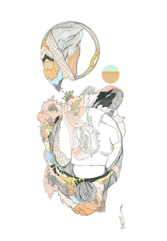 botany///buds Art Print