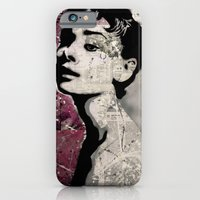 iPhone & iPod Case featuring Audrey by f_e_l_i_x_x