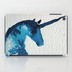 Blue Unicorn iPad Case